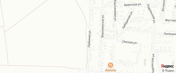 Любимая улица на карте Магнитогорска с номерами домов