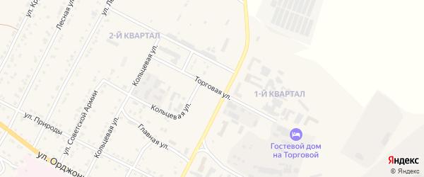 Торговая улица на карте Сатки с номерами домов