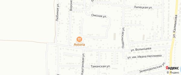 Североморская улица на карте Магнитогорска с номерами домов