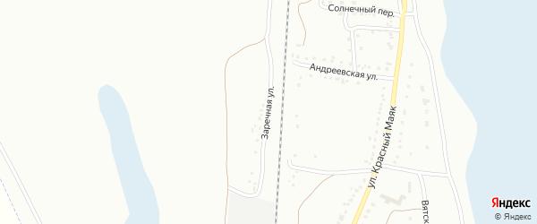 Заречная улица на карте Магнитогорска с номерами домов