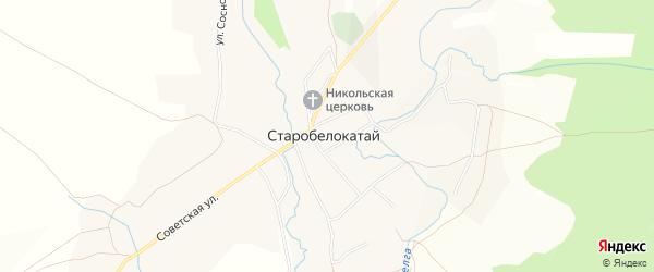 Карта села Ургалы в Башкортостане с улицами и номерами домов