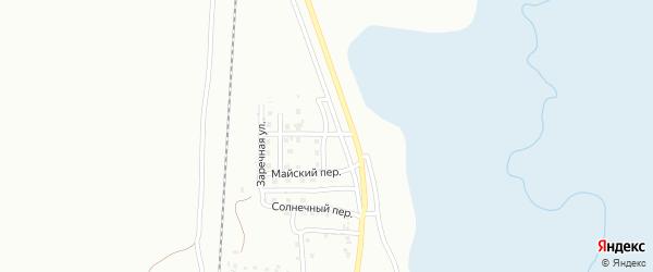 Речной переулок на карте Магнитогорска с номерами домов
