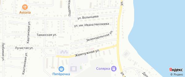 Зеленодольская улица на карте Магнитогорска с номерами домов