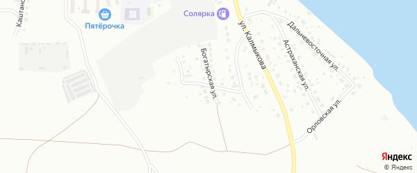 Копейская улица на карте Магнитогорска с номерами домов