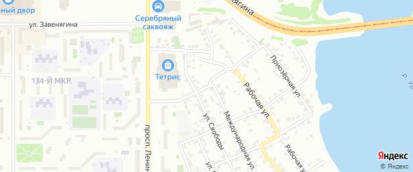 Улица Салавата Юлаева на карте Магнитогорска с номерами домов