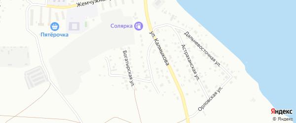 Красносельская улица на карте Магнитогорска с номерами домов