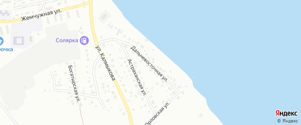 Дальневосточная улица на карте Магнитогорска с номерами домов