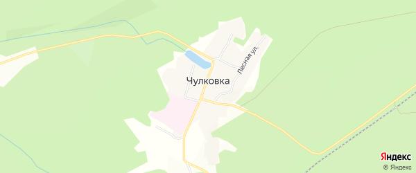 Карта поселка Чулковки в Челябинской области с улицами и номерами домов
