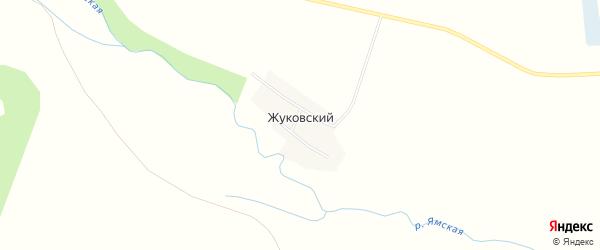 Карта Жуковского поселка в Челябинской области с улицами и номерами домов