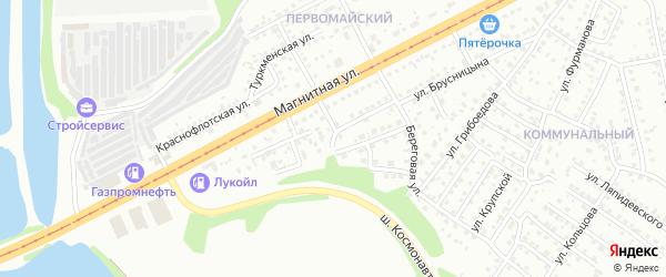Малая Пролетарская улица на карте Магнитогорска с номерами домов
