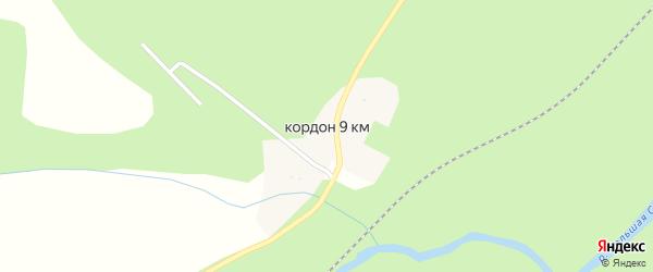 Километр 9 на карте Сатки с номерами домов