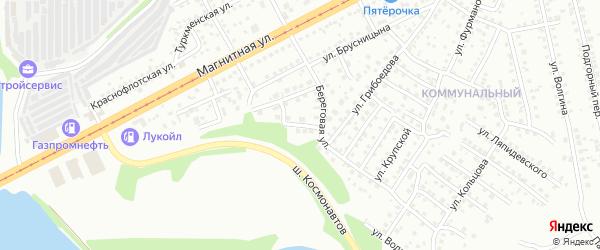 Слободская улица на карте Магнитогорска с номерами домов
