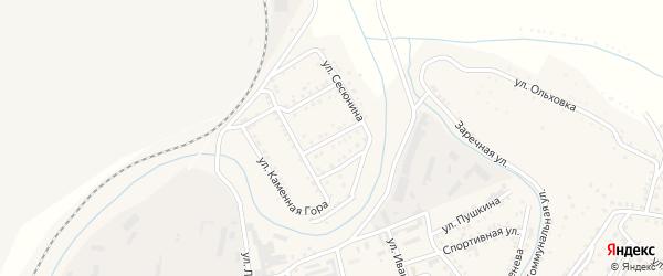 Краснофлотская улица на карте Сатки с номерами домов