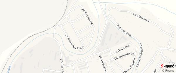 Улица Щербакова на карте Сатки с номерами домов