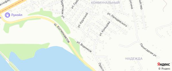 Улица Благоева на карте Магнитогорска с номерами домов