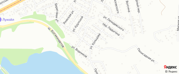 Переулок Бабушкина на карте Магнитогорска с номерами домов