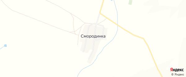Карта поселка Смородинки в Челябинской области с улицами и номерами домов