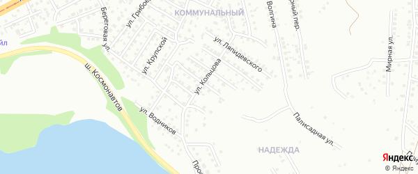 Переулок Каховского на карте Магнитогорска с номерами домов