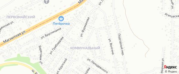 Логовая улица на карте Магнитогорска с номерами домов