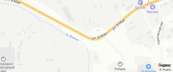 9 Мая улица на карте Магнитогорска с номерами домов