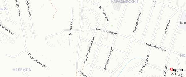 Революционная улица на карте Магнитогорска с номерами домов