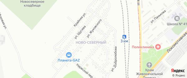 Златоустовская улица на карте Магнитогорска с номерами домов