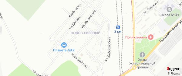 Улица Котовского на карте Магнитогорска с номерами домов