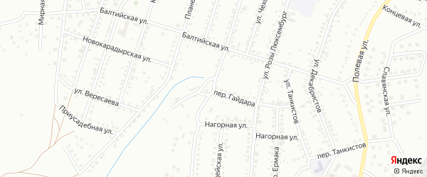 Улица Некрасова на карте Магнитогорска с номерами домов