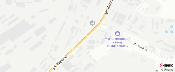 Улица Кирова на карте Магнитогорска с номерами домов