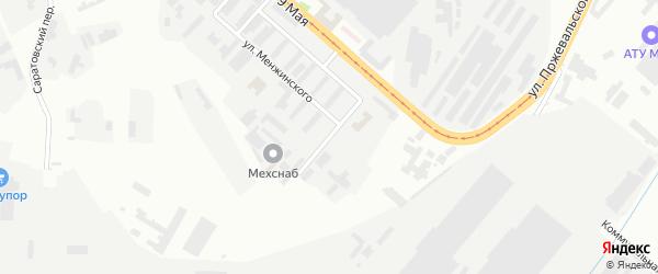 Заводская улица на карте Магнитогорска с номерами домов