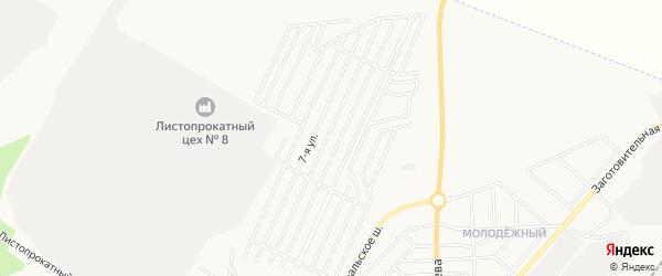 СТ Локомотив N2 на карте Челябинска с номерами домов
