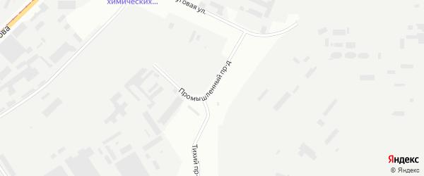 Промышленный проезд на карте Магнитогорска с номерами домов
