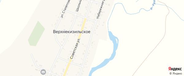 Набережная улица на карте железнодорожной станции Субутака с номерами домов