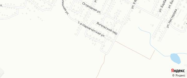 Наровчатская 2-я улица на карте Магнитогорска с номерами домов