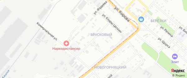 Улица Карпинского на карте Магнитогорска с номерами домов