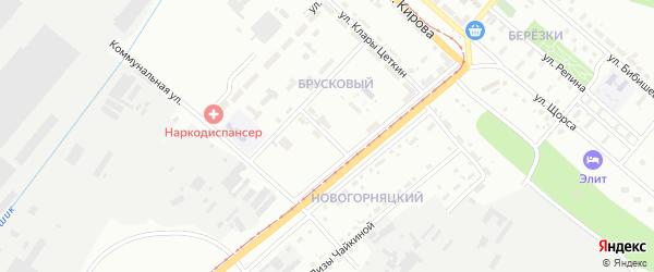 Улица Олега Кошевого на карте Магнитогорска с номерами домов