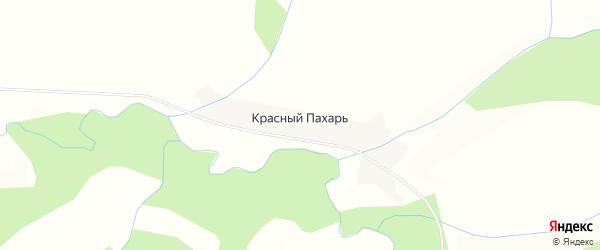 Карта деревни Красного Пахаря в Башкортостане с улицами и номерами домов