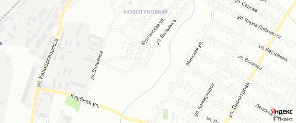 Улица Вильямса на карте Магнитогорска с номерами домов