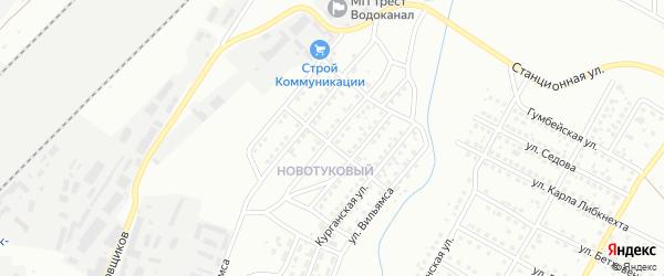 Улица Можайского на карте Магнитогорска с номерами домов