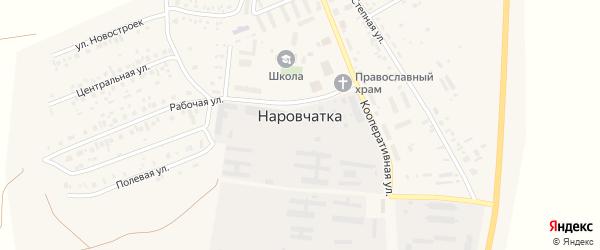 Полевая улица на карте поселка Наровчатки с номерами домов