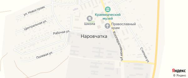 Новая улица на карте поселка Наровчатки с номерами домов