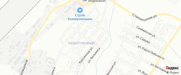 Литейная улица на карте Магнитогорска с номерами домов