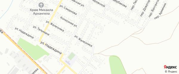 Улица Сергея Тюленина на карте Магнитогорска с номерами домов