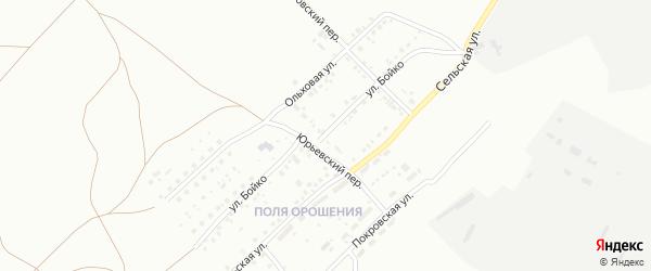 Улица Бойко на карте Магнитогорска с номерами домов