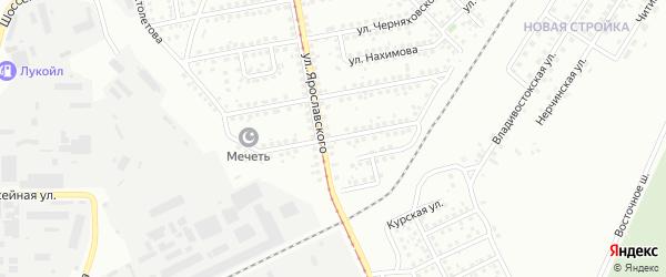 Кузбасская улица на карте Магнитогорска с номерами домов