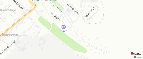 Улица Щорса на карте Магнитогорска с номерами домов