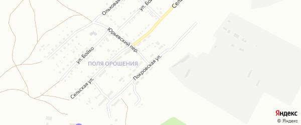 Покровская улица на карте Магнитогорска с номерами домов