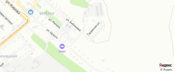 Гаражная улица на карте Магнитогорска с номерами домов