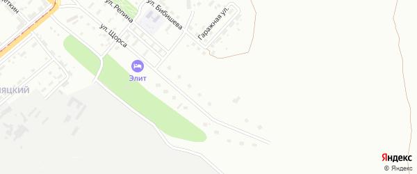 Территория ГСК Березки на карте Магнитогорска с номерами домов