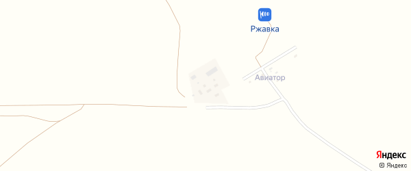 Улица мкр Полевой на карте поселка Ржавки с номерами домов